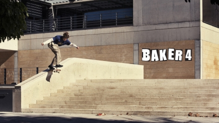 "Tyson Peterson's ""Baker 4"" Part"