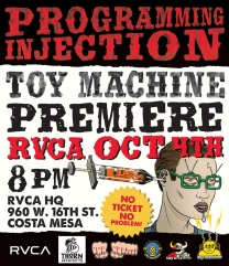 "Toy Machine's ""Programming Injection"" Premiere"